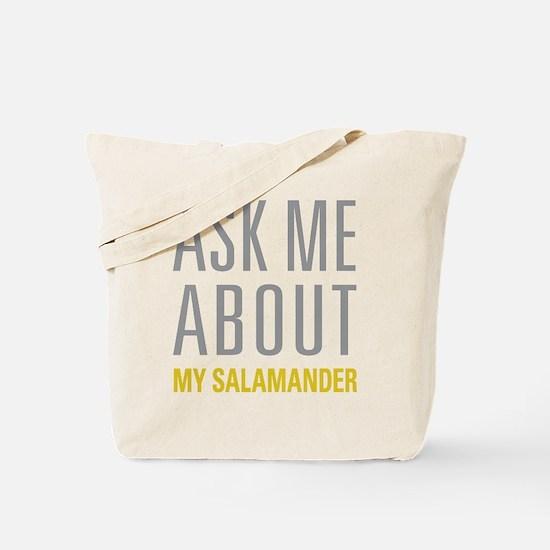 My Salamander Tote Bag