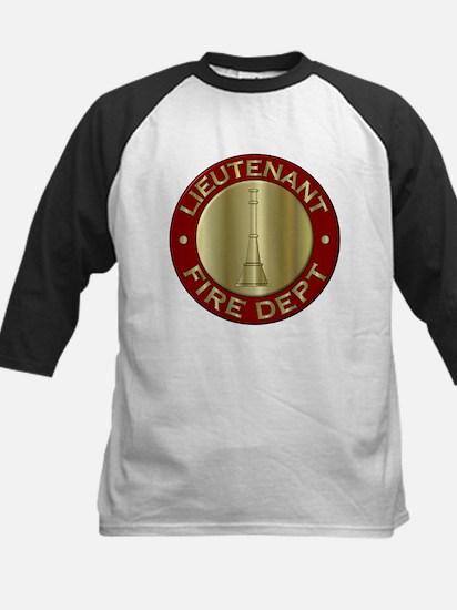 Lieutenant fire department symbol Baseball Jersey