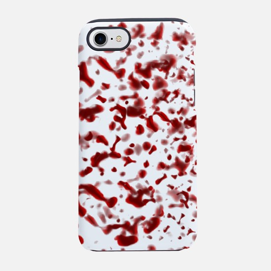 Blood Spatter iPhone 7 Tough Case