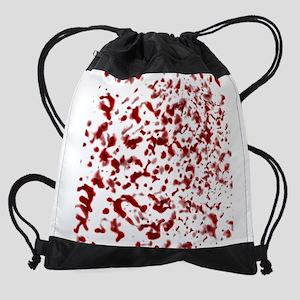 Blood Spatter Drawstring Bag