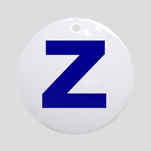 Z Ornament (Round)