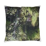 Mossy Rocks Everyday Pillow