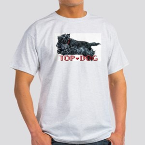 Top Dog Scottish Terrier Light T-Shirt