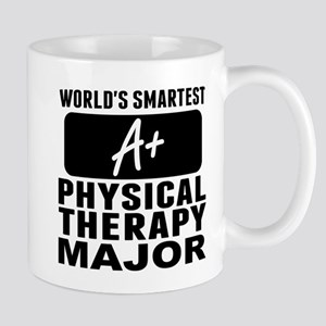 Worlds Smartest Physical Therapy Major Mugs
