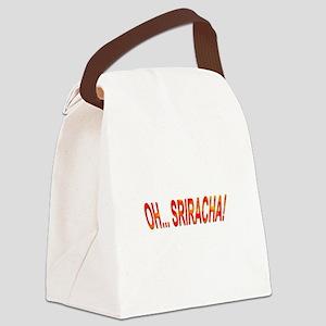 Oh... Sriracha! Canvas Lunch Bag