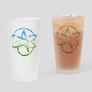 Springtime Atheist Drinking Glass