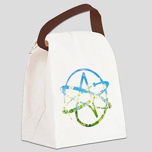 Springtime Atheist Canvas Lunch Bag