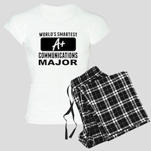 Worlds Smartest Communications Major Pajamas