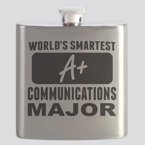 Worlds Smartest Communications Major Flask