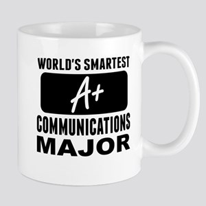 Worlds Smartest Communications Major Mugs