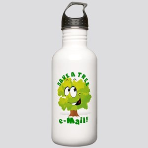 SAVE A TREE - E-MAIL Stainless Water Bottle 1.0L