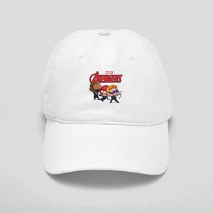 Chibi Hawkeye-Widow-Fury Stylized Cap
