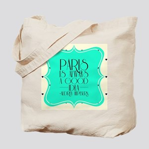 Audrey's Quote Tote Bag