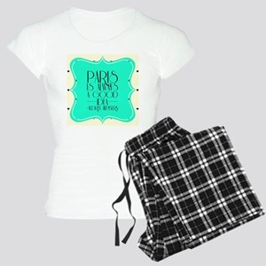 Audrey's Quote Women's Light Pajamas