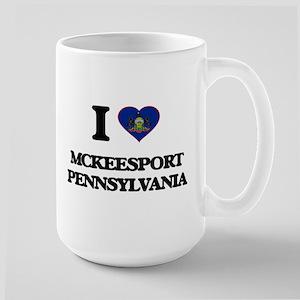 I love Mckeesport Pennsylvania Mugs