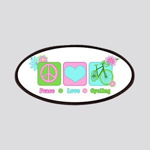 Peace Love and Cycling Patch