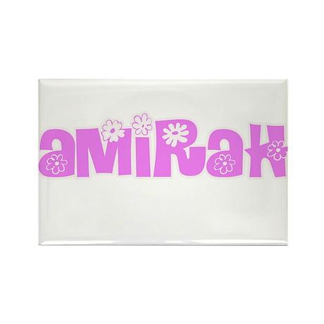 Amirah Flower Design Magnets