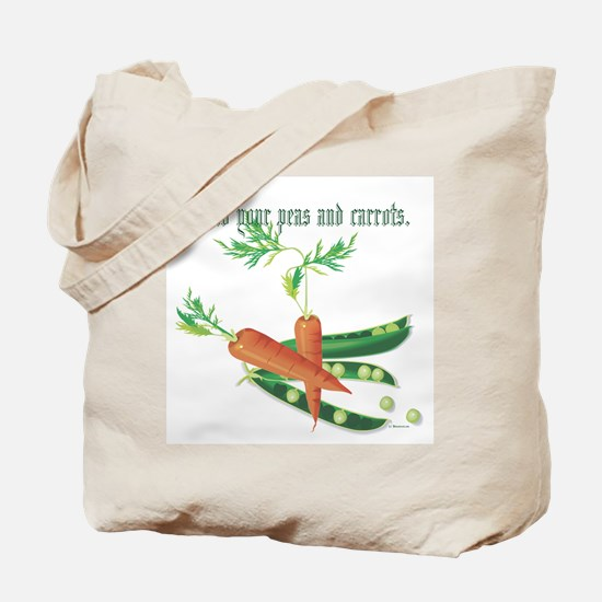 Mind Your Peas... Tote Bag