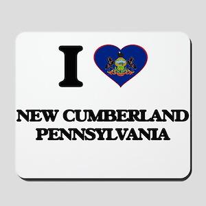 I love New Cumberland Pennsylvania Mousepad