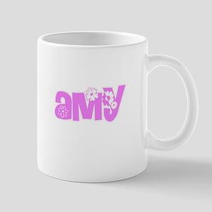 Amy Flower Design Mugs