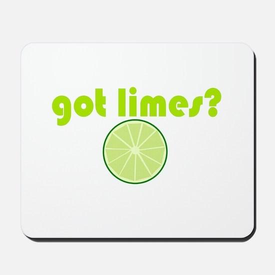 got limes? Mousepad