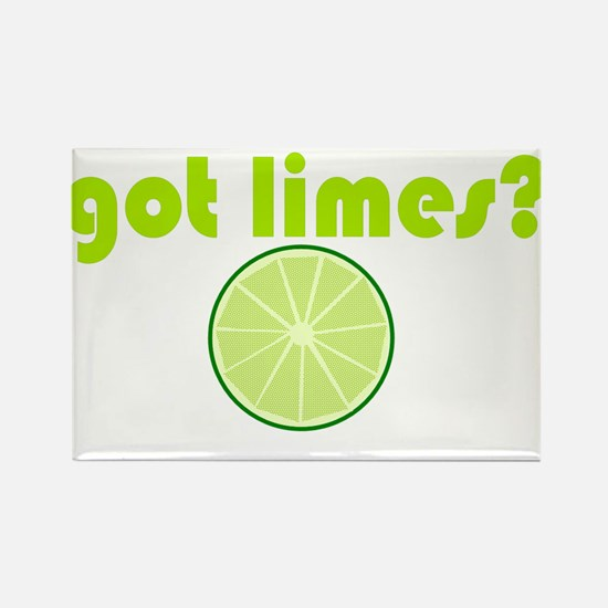 got limes? Rectangle Magnet