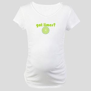 got limes? Maternity T-Shirt