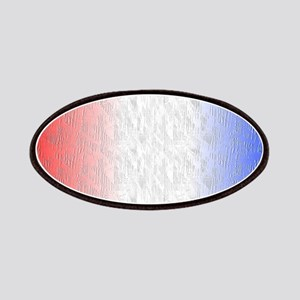 Red White and Blue Stripe Patch