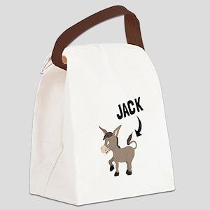 Jack Ass Canvas Lunch Bag