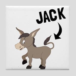 Jack Ass Tile Coaster