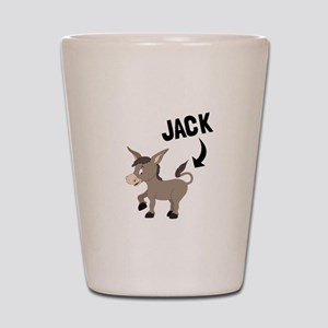 Jack Ass Shot Glass