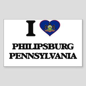 I love Philipsburg Pennsylvania Sticker