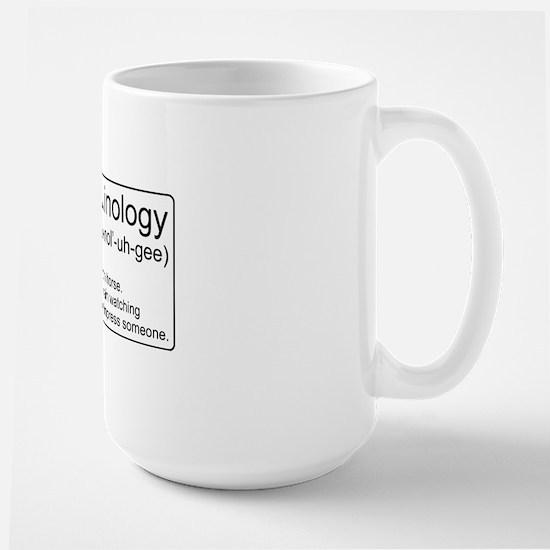Ferroequinology Defined Large Mug