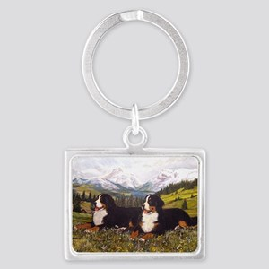 Bernese Mountain Dogs Keychains