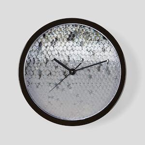 Salmon Scale Wall Clock