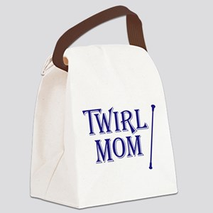 TWIRL MOM Canvas Lunch Bag