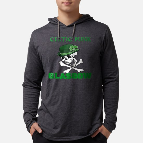 Celtic Punk Glasgow Long Sleeve T-Shirt