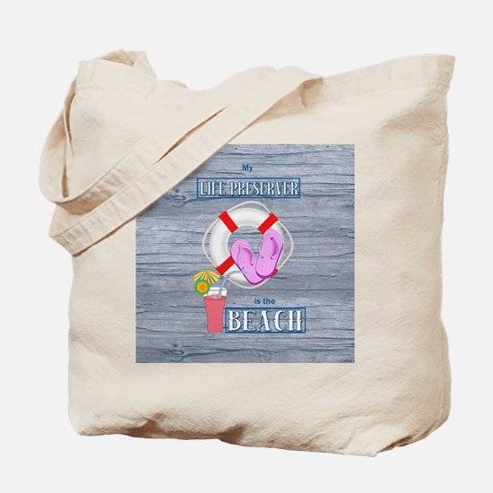 Your Life Preserver is the Beach Tote Bag