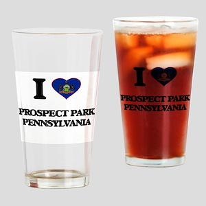I love Prospect Park Pennsylvania Drinking Glass