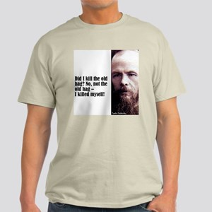 "Dostoevsky ""Did I Kill"" Light T-Shirt"