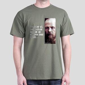 """Dostoevsky """"Ideals"""" Dark T-Shirt"""