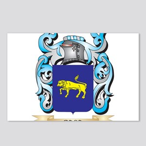 Baca Coat of Arms - Famil Postcards (Package of 8)