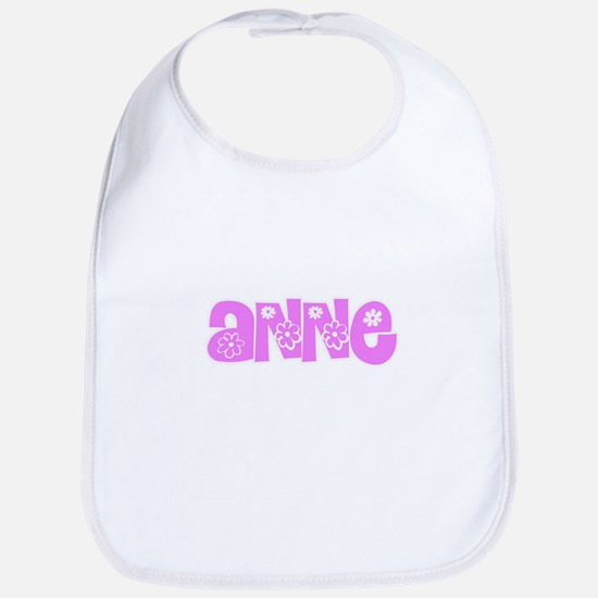 Anne Flower Design Baby Bib