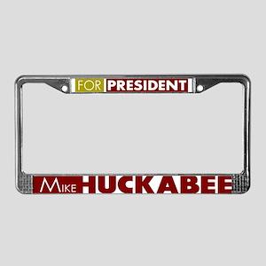 Mike Huckabee for President V1 License Plate Frame