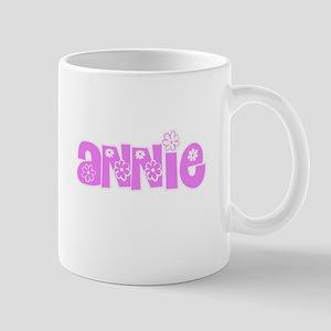 Annie Flower Design Mugs