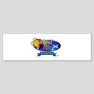 A Caring Nation.:-) Bumper Sticker