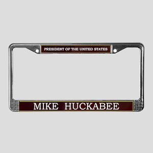 Mike Huckabee for President V3 License Plate Frame