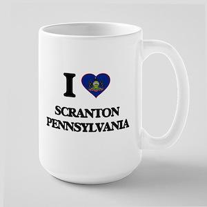 I love Scranton Pennsylvania Mugs