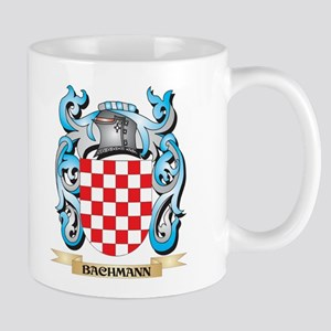 Bachmann Coat of Arms - Family Crest Mugs