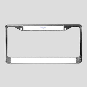Rand Paul 16-Edw blue 9 License Plate Frame